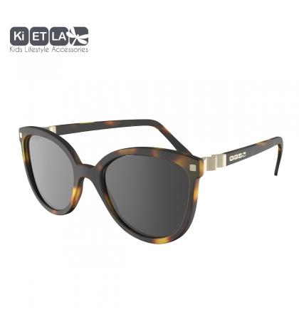 KiETLA CraZyg-Zag slnečné okuliare 6-9 rokov-mačacie-hnedé