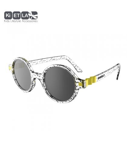 KiETLA CraZyg-Zag slnečné okuliare 6-9 rokov-okrúhle-zygzag