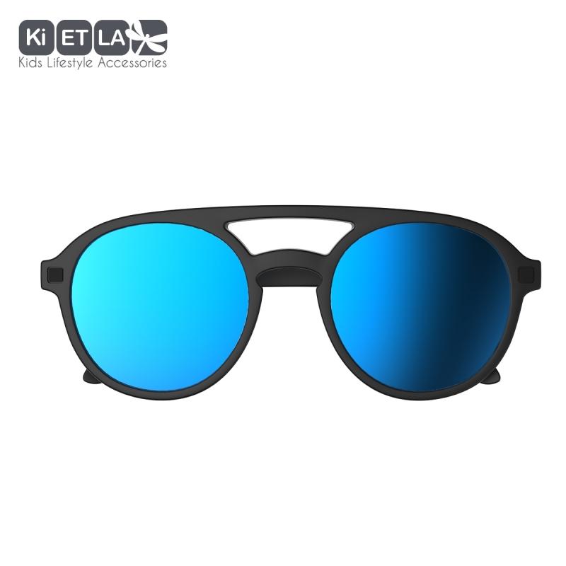 12c283f36 ... KiETLA CraZyg-Zag slnečné okuliare 6-9 rokov-pilotky-cierne-zrkadlovky  ...