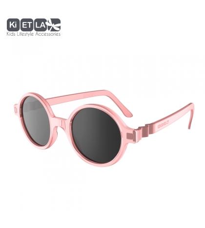 KiETLA CraZyg-Zag slnečné okuliare 9-12 rokov-okrúhle-ružové