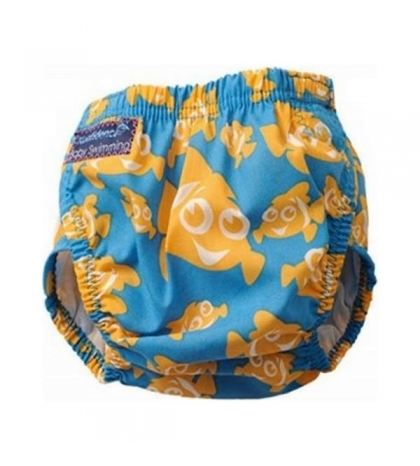 Konfidence - plienkové plavky, Aqua Nappies modrý pásik