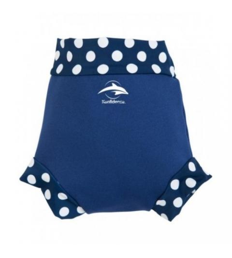 Konfidence Hrejivé plavky NeoNappy modré- rybky
