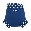 Konfidence Hrejivé plavky NeoNappy modré- biele bodky