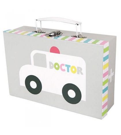 Jabadabado lekársky kufrík modrý