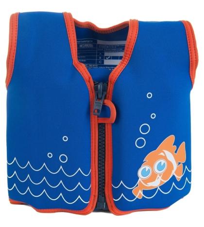 Konfidence plávacia vesta na učenie - Clownfish