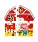 Janod Coffret Vertikálne 3D puzzle Farma