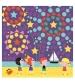 Janod Kreatívna sada Prázdniny mozaika v kufríku 6 ks od 4-8 rokov
