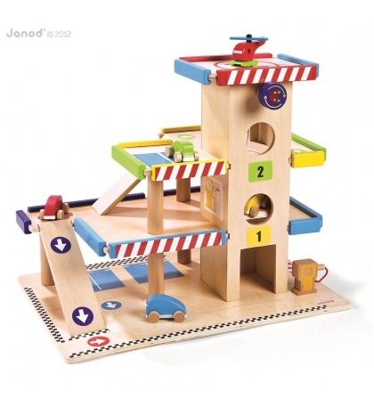 Janod Urob si sám GARÁŽ - drevená garáž
