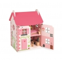 Janod Drevený domček pre bábiky Mademoiselle s príslušenstvom