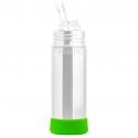 Pura® silikónový chránič na fľašu zelený