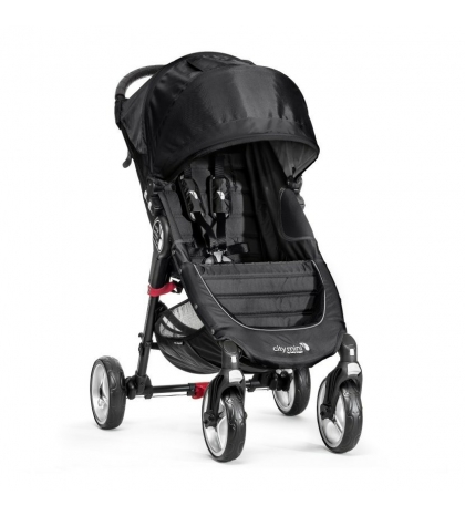 Baby Jogger CITY MINI 4 KOLESÁ  BLACK/GRAY čierno sivý