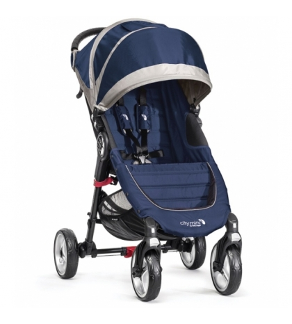 Baby Jogger CITY MINI 4 KOLESÁ  COBALT/GREY tm .modrý