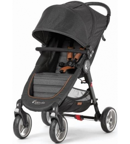 Baby Jogger CITY MINI 4 KOLESÁ ANNIVERSARY sivý