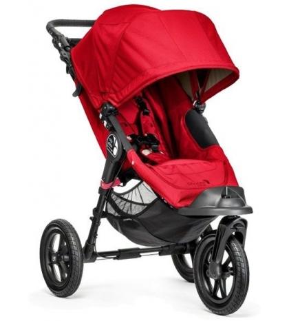 Baby Jogger Kočík City Elite ,Red červený