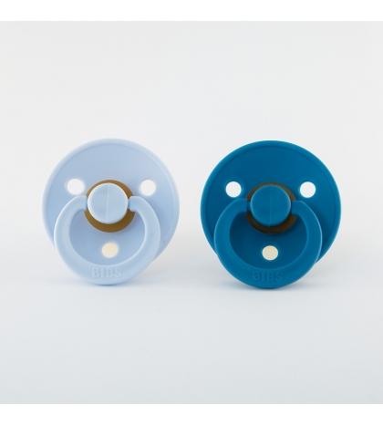 BIBS cumlíky baby-blue-dark-teal - veľkosť 2