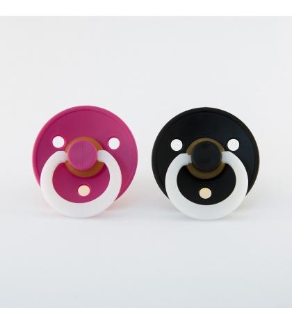 BIBS cumlíky pink-nocny-black-nočný- veľkosť 2