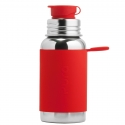Pura® nerezová fľaša so športovým uzáverom 550ml červená