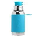 Pura® nerezová fľaša so športovým uzáverom 550ml aqua