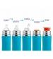 Pura® nerezová fľaša so športovým uzáverom 550ml - aqua