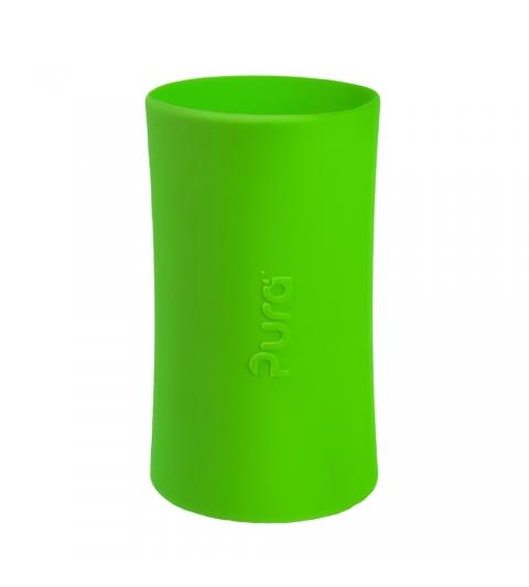 Pura® silikónový návlek na fľašu – 260ml, 325ml- ZELENÝ