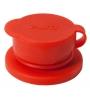 Pura Big Mouth® silikónový športový uzáver- červený