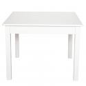 Jabadabado Detský biely drevený stôl