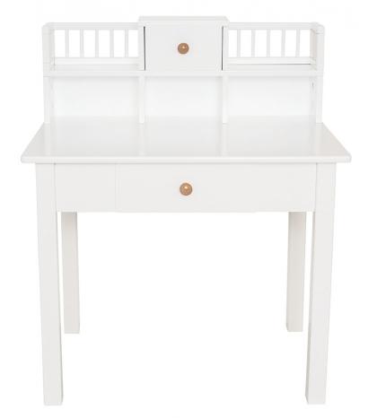 Jabadabado Biely drevený detský stôl