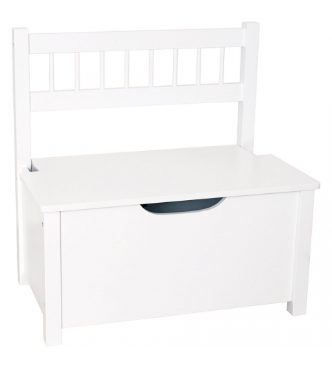 Jabadabado Úložná lavica biela