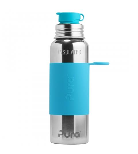 Pura® TERMO fľaša so športovým uzáverom 650ml - aqua