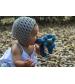 Tikiri rozprávkový drak z prírodnej kaučukovej gumy- tmavý