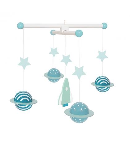Jabadabado Kolotoč modrý Planétky
