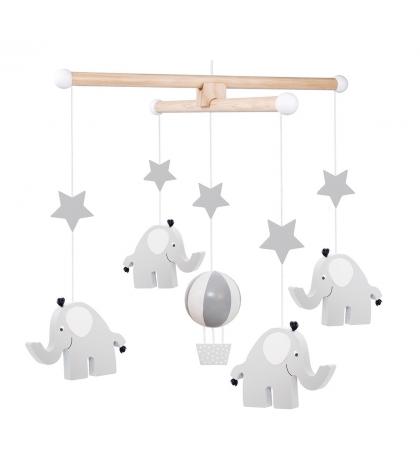Jabadabado Kolotoč sivý sloník