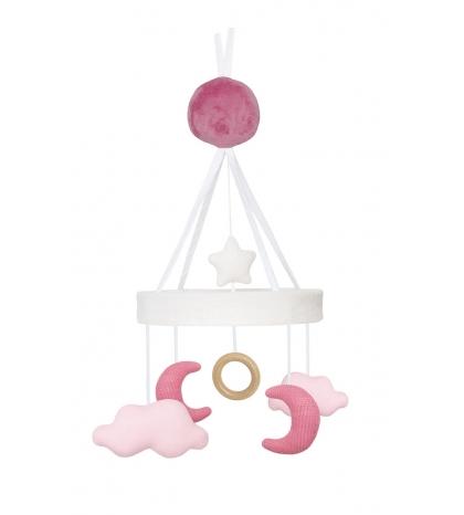 Jabadabado Hrajúci kolotoč ružový mesiačik