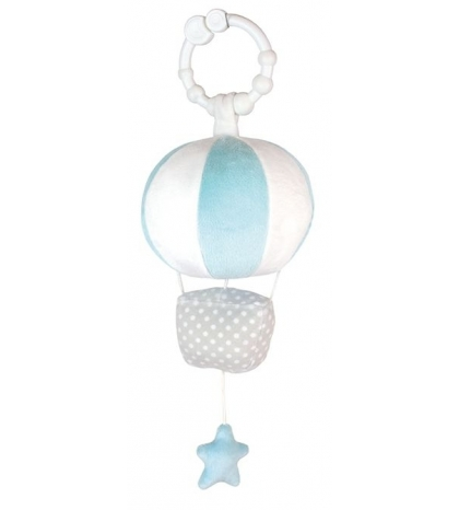 Jabadabado hrajúci balón modrý