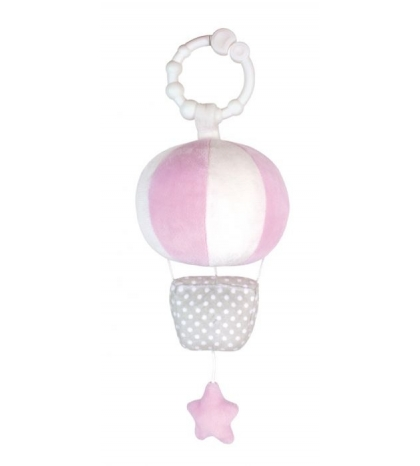 Jabadabado hrajúci balón ružový