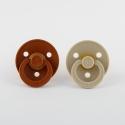 BIBS cumlíky rust-vanilla  2ks – veľkosť 2
