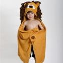 Zoochini veľká osuška s kapucňou   lev