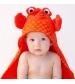 Zoochini osuška s kapucňou crab