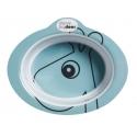 miska s protišmykovým systémom contour  modrá