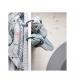 Mušelínové plienky 2 kusy 120x120 Bodka sivé Done by Deer