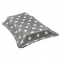 CAMBRASS Španielska deka -110 x 40 cm STAR sivá