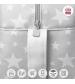 CAMBRASS Materská taška 18 x 44 x 33 cm PROME ETOILE sivá