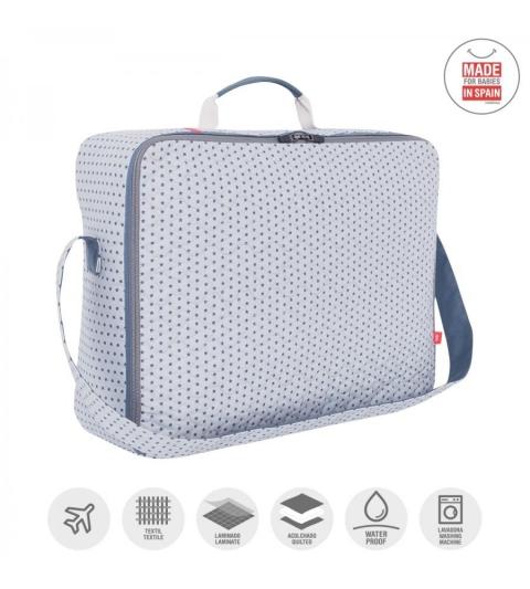 CAMBRASS Materská taška 12 x 47 x 36 cm CLINIC ESPECTRA modrá