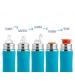 Pura® dojčenská TERMO fľaša 260ML-zeleno modrá