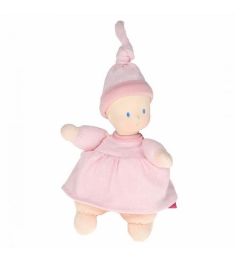 Bonikka Mini bábika miláčik - 15cm ružová