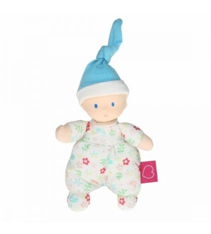 Bonikka Mini bábika miláčik - 15cm kvietkovaná