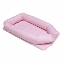 CAMBRASS útulné hniezdo pre bábätko ružové