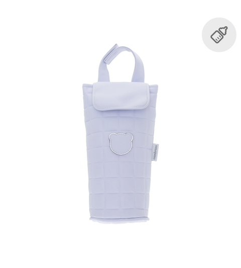 CAMBRASS Termoobal na fľašku Gofre modrá