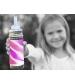 Pura® TERMO fľaša so slamkou 260ml- ružovo biela
