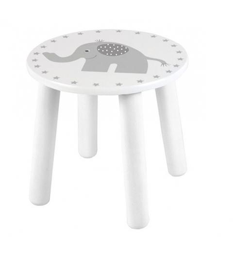 Jabadabado stolička slon ,biela